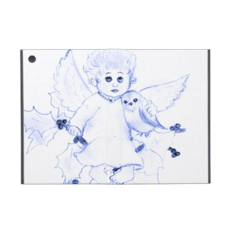 Little Angel in Blue iPad Mini Cover