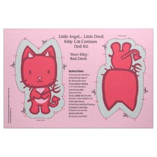 Little Angel...Little Devil Kitty Cat Doll Kit