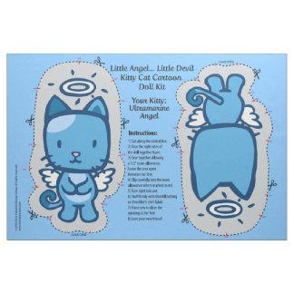 Little Angel...Little Devil Kitty Cat Doll Kit Fabric