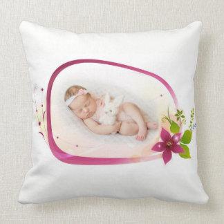 Little Angel Sleeping Polyester Throw Pillow