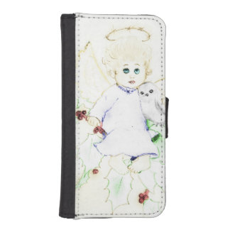 Little Angel - Soft and Dreamy iPhone SE/5/5s Wallet Case