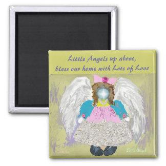 Little Angel Square Magnet