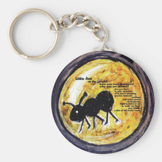 Little Ant... Basic Round Button Key Ring