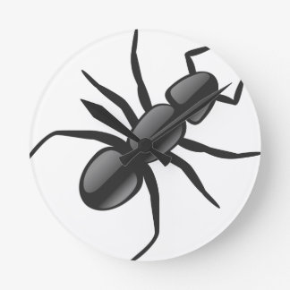 Little Ant Round Clock