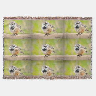 Little Arizona Bird Throw Blanket