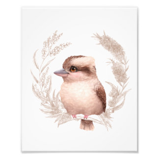 Little Aussie Friends - Kookaburra Photo Print