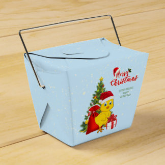 Little Baby Chicken Christmas Favour Box