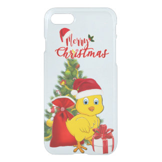 Little Baby Chicken Christmas iPhone 8/7 Case