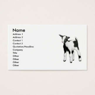 Little Baby Goat Business Card