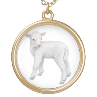 Little Baby Lamb Necklace