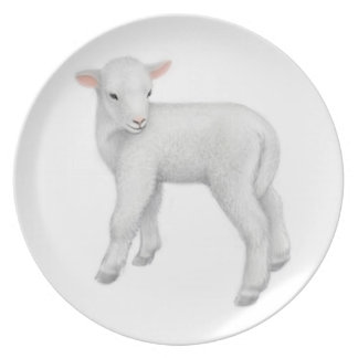 Little Baby Lamb Plate