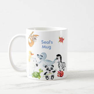 'Little Baby Love Seal' All Character Mug