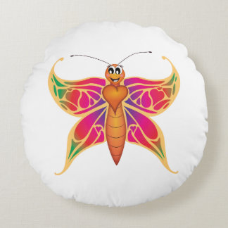 'Little Baby Love Seal' Butterfly Cushion