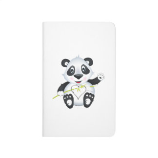 'Little Baby Love Seal' Panda Character Notebook