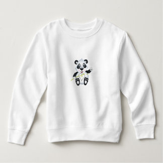 'Little Baby Love Seal' Panda Character sweater