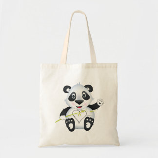 'Little Baby Love Seal' Panda Character Tote bag