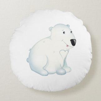 'Little Baby Love Seal' Polar Bear Cushion
