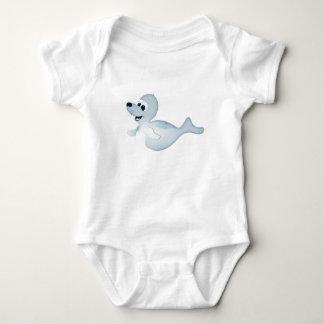 'Little Baby Love Seal' Seal Character Romper Baby Bodysuit