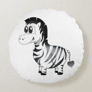 'Little Baby Love Seal' Zebra Cushion