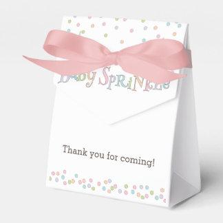 Little Baby Sprinkle Confetti Shower Favor Bag Favour Box
