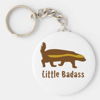 Little badass honey badger key ring