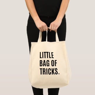 Little Bag Of Tricks Bag Humour Grocery Bag