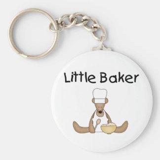 Little Baker Basic Round Button Key Ring