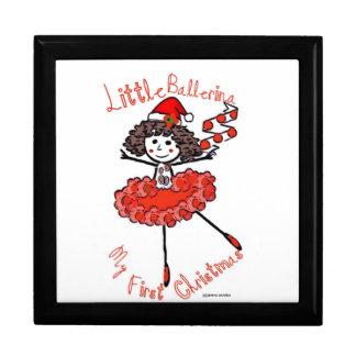 Little Ballerina-1st Christmas-Treasure Keeper Gift Box