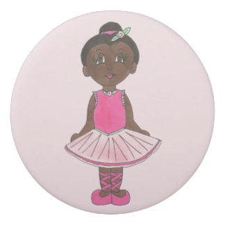 Little Ballerina Cute Ballet Dancer Pink Tutu Eraser