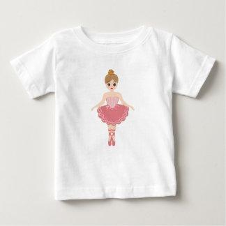 Little Ballerina monogram Baby T-Shirt