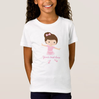 Little Ballerina with Pink Outfit T-Shirt
