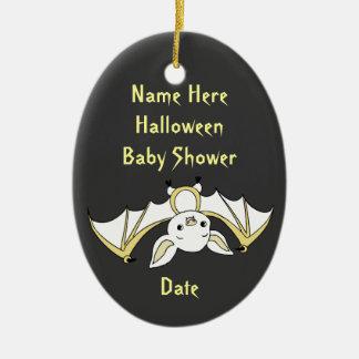 Little Bat Baby Shower Keepsake Ornaments