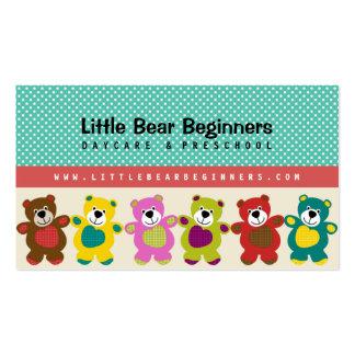 Little Bear Beginners Daycare Business Card