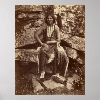 Little Bear, Cheyenne, 1875 Poster