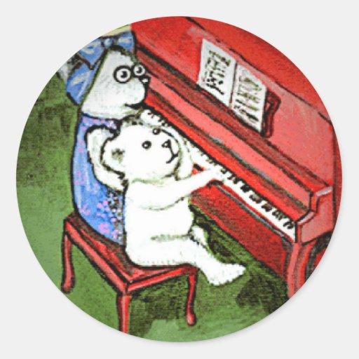 Little Bear & Grandma Melody Sticker