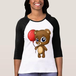 Little Bear with Red Balloon T-Shirt