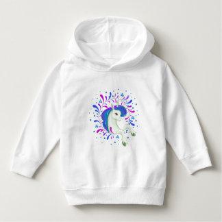 Little beautiful unicorn unicorn hoodie