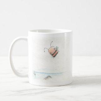 Little Bee Basic White Mug