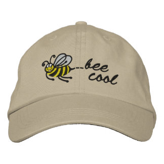 Little Bee - bee cool - Cap Embroidered Cap