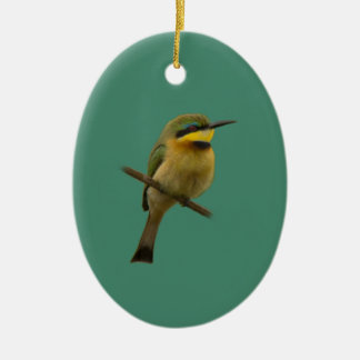 Little Bee-Eater Ceramic Oval Decoration