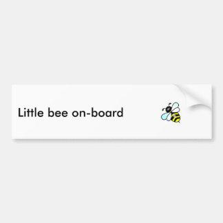 Little bee on board bumper sticker