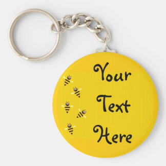 Little Bees Key Ring