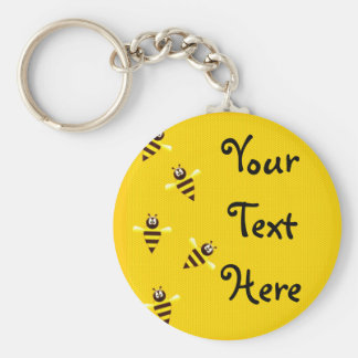 Little Bees Key Chains