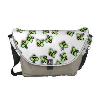 Little Bees Messenger Bag