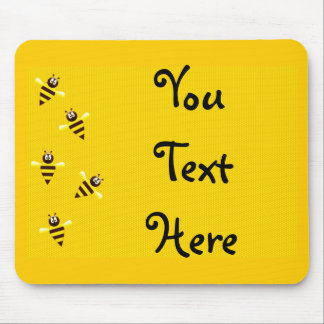 Little Bees Mouse Pad