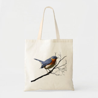Little Bird Blue, tote bags Budget Tote Bag