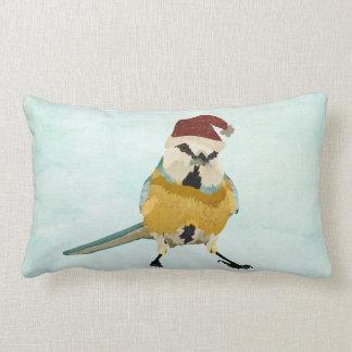 Little Bird Festive Lumbar Pillow Throw Cushion