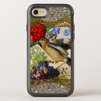 Little Bird From the Past Vintage Monogram OtterBox Symmetry iPhone 8/7 Case