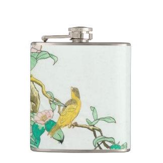little bird hip flask