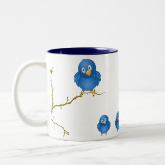 Little Birdie Told Me Momism Mug
